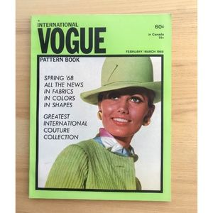 Vintage Vogue Pattern Book - February / March 1968